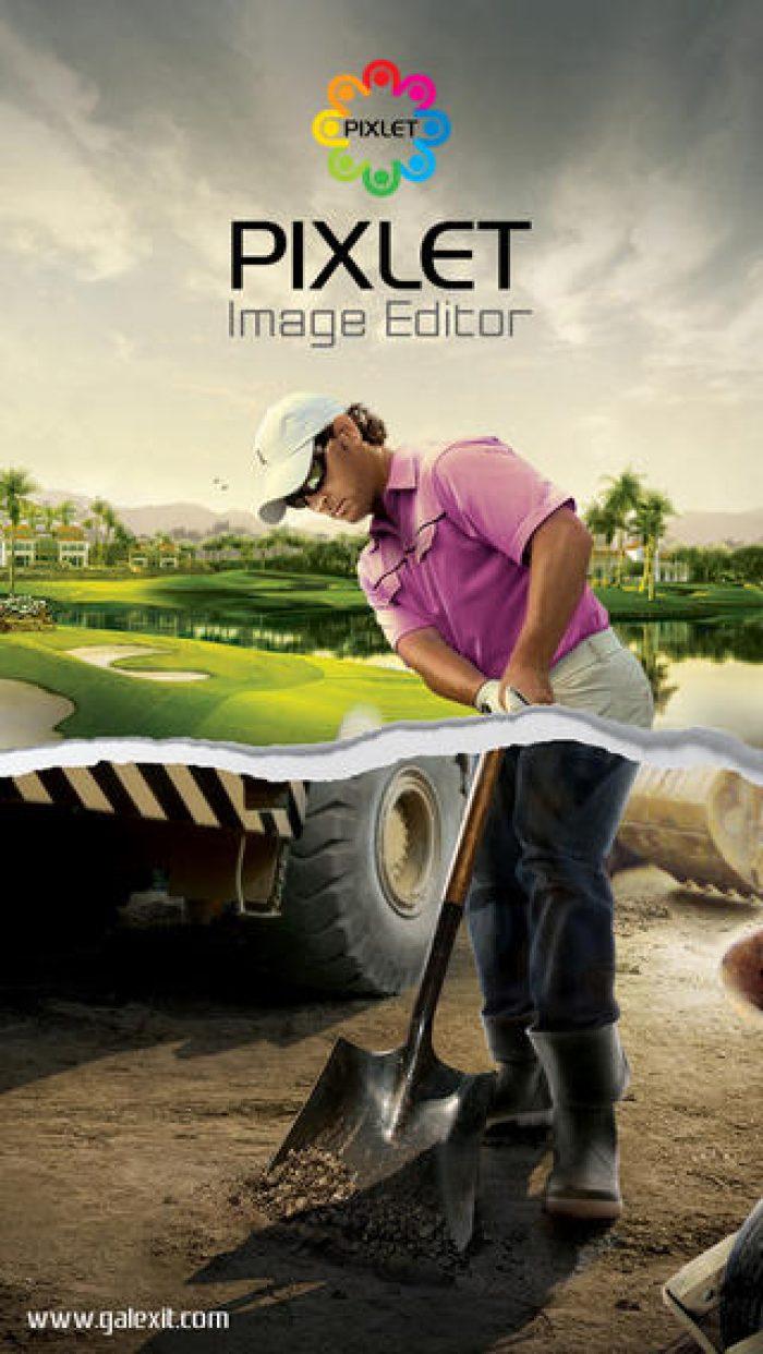 Pixlet iOS image editor